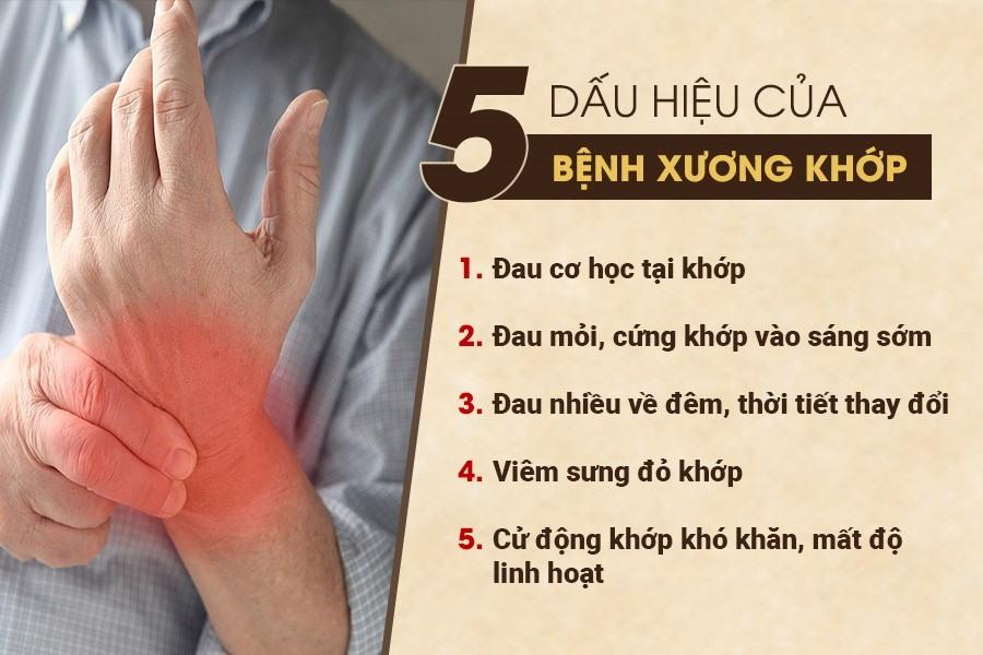 Những dấu hiệu cho thấy bạn bị đau xương khớp